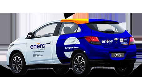 Carro da ENERG Geradores