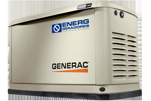 Geradores a Gás-Residencial e Comercial